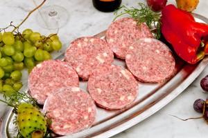 hamburger di bovino